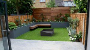 Palenisko ogrodowe SOLID - nowoczesne metalowe